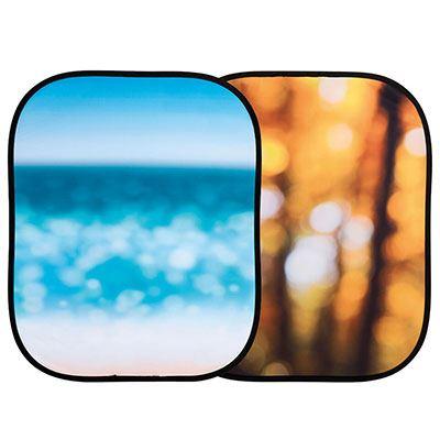 Lastolite Out of Focus Background 1.2 x 1.5m - Autumn Foliage / Seascape