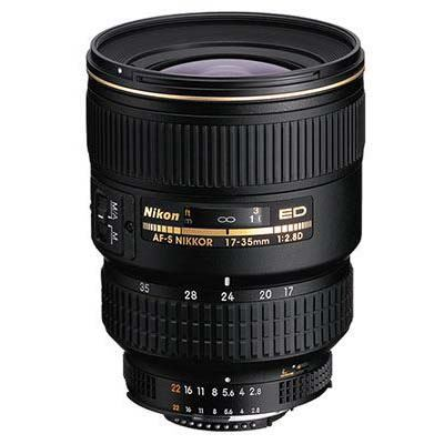 Used Nikon 17-35mm f2.8 D AF-S IF Lens