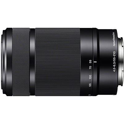 Sony E 55-210mm f4.5-6.3 OSS Lens - Black