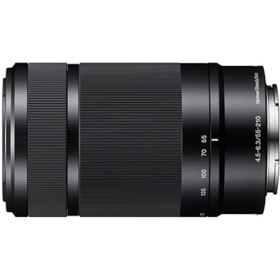 Sony E 55-210mm f4.5-6.3 OSS Lens - Black