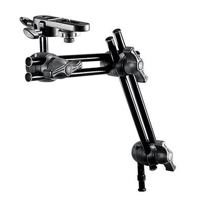 Manfrotto 396B-2 2-Section Double Arm with Camera Bracket