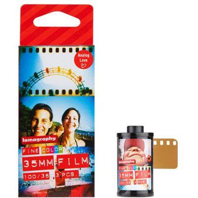 Image of Lomography Colour Negative 100 135 Film 3 pack