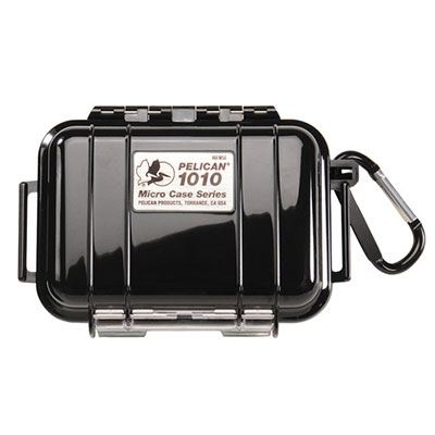 Peli 1010 Microcase Black with Black Liner