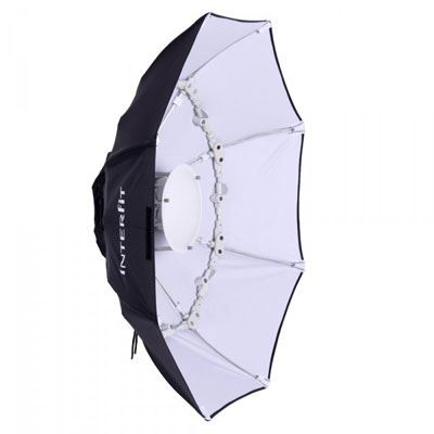Image of Interfit 100cm Folding Beauty Dish White- EX Fitting