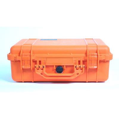 Peli 1500 Case with Foam - Orange