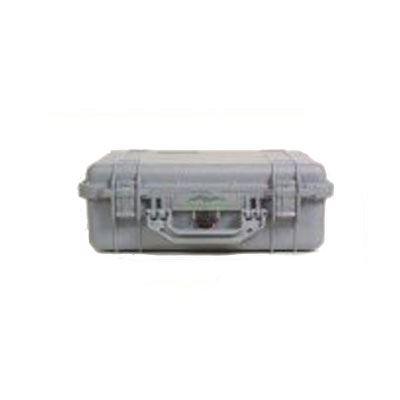 Peli 1500 Case without Foam – Silver