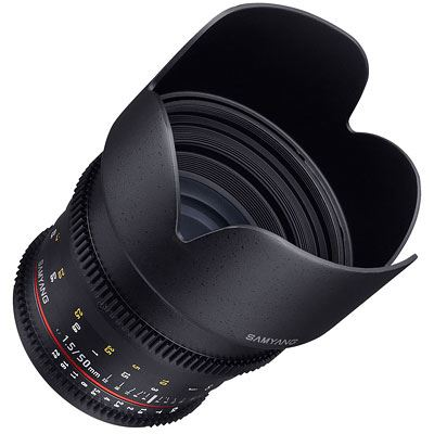 Samyang 50mm T1.5 AS UMC VDSLR Lens - Canon Fit