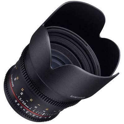 Samyang 50mm T1.5 AS UMC Video Lens - Sony FE Mount