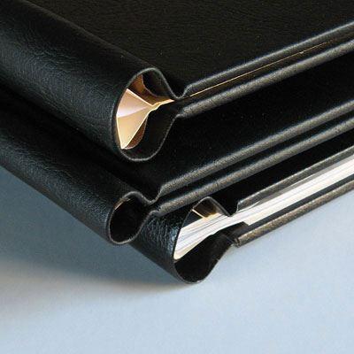 Permajet SnapShut Folio - A5 - Portrait - Black