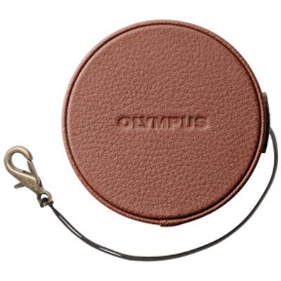Image of Olympus LC-60.5GL Lens Cover for PEN E-PL7 - Brown