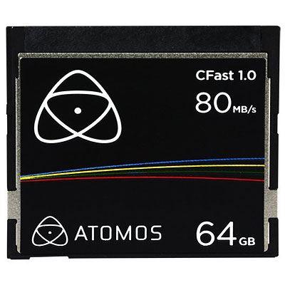 Image of Atomos 64GB 80MB/Sec CFast 1.0 Card