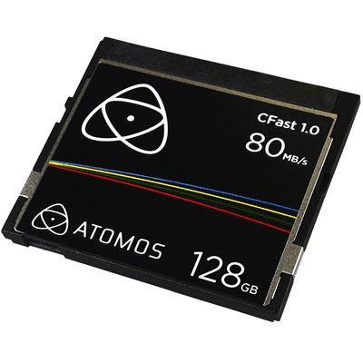 Image of Atomos 128GB 80MB/Sec CFast 1.0 Card