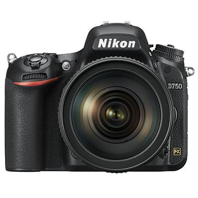 Nikon D750 Digital SLR with 24-120mm VR Lens