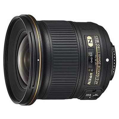 Nikon 20mm f1.8G AF-S NIKKOR ED Lens