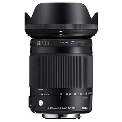 Image of Sigma 18-300mm f3.5-6.3 C DC Macro OS HSM - Sigma SA Fit