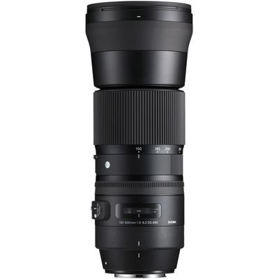 Sigma 150-600mm f5-6.3 Contemporary DG OS HSM Lens - Canon Fit