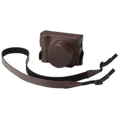 Panasonic DMW-CLX100 Case - Brown