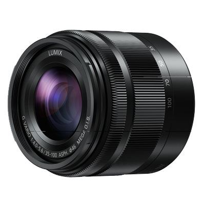 35-100mm f4-5.6 LUMIX G VARIO ASPH OIS - Black