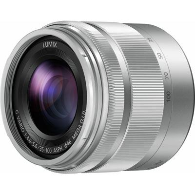 35-100mm f4-5.6 Lumix G VARIO ASPH OIS - Silver