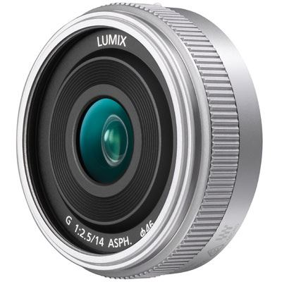 Panasonic 14mm F2.5 LUMIX G II ASPH Lens  Silver