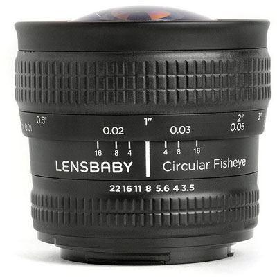 Lensbaby Circular Fisheye – Nikon Fit