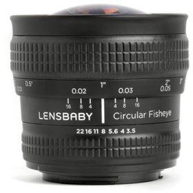 Lensbaby Circular Fisheye - Nikon F Fit