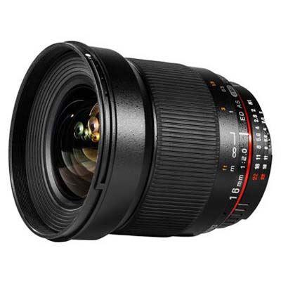 Samyang 16mm f2 ED AS UMC CS Lens - Sony E Fit