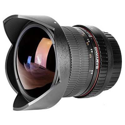 Samyang 8mm f3.5 UMC Fisheye CS II Lens - Sony E Fit