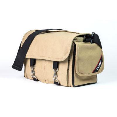 Domke Chronicle Shoulder Bag  Khaki Canvas