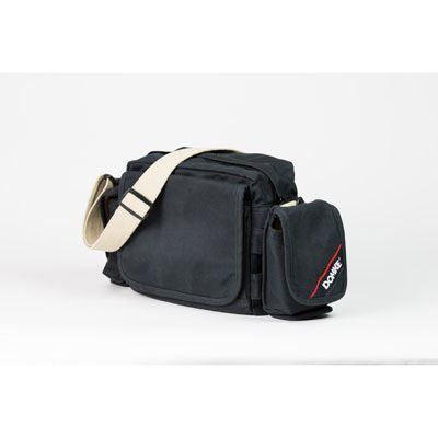Image of Domke Crosstown Courier Shoulder Bag - Black RuggedWear