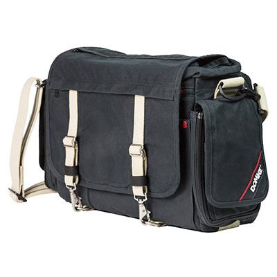 Domke Metro Messenger Shoulder Bag - Black RuggedWear