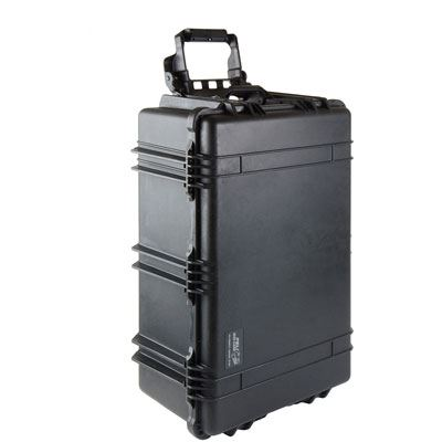 Peli 1650 Case without Foam - Black