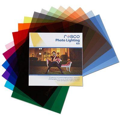 Rosco Photo Lighting Filter Kit 12x12inch