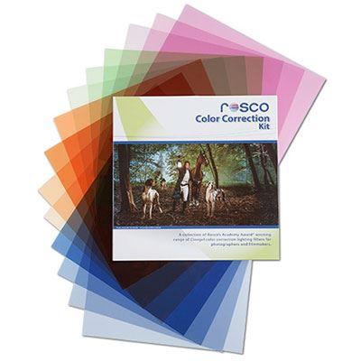 Rosco Colour Correction Filter Kit 20x24inch
