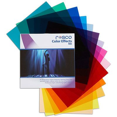 Rosco Colour Effects Filter Kit 20x24inch