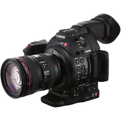 Canon EOS C100 Mark II Camcorder with EF 24-105mm Lens