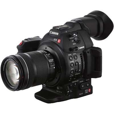 Canon EOS C100 Mark II High Definition Camcorder with EFS 18135mm Lens