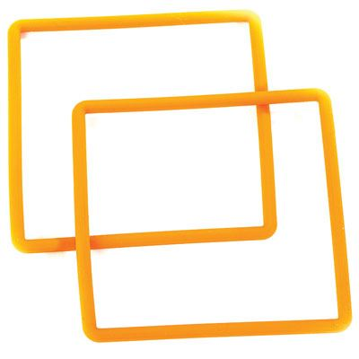 Image of IC12 LED Light Cube Spare Orange Bands (2)