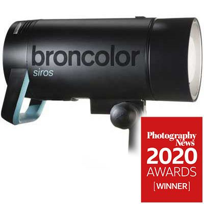 Broncolor Siros 400S WiFi / RFS2 Flash Head