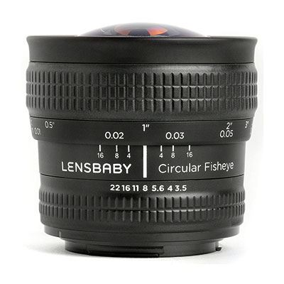 Lensbaby Circular Fisheye – Micro Four Thirds Fit