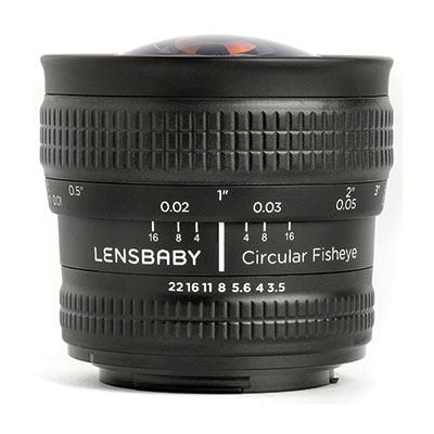 Image of Lensbaby Circular Fisheye - Micro Four Thirds Fit