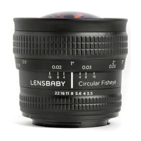 Lensbaby Circular Fisheye - Micro Four Thirds Fit