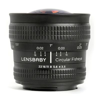 Image of Lensbaby Circular Fisheye - Samsung NX Mount