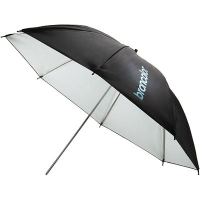 Image of Broncolor 85cm Umbrella - White/Black