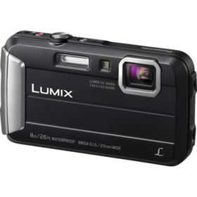 Panasonic LUMIX DMC-FT30 Digital Camera - Black