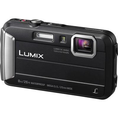 Panasonic LUMIX DMC-FT30 Digital Camera - Black