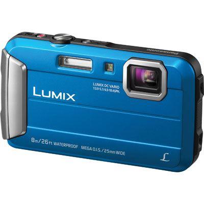 Panasonic LUMIX DMC-FT30 Digital Camera - Blue