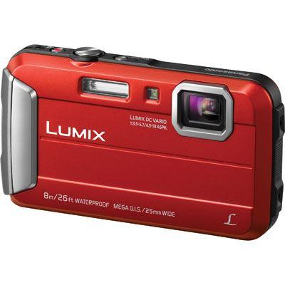 Panasonic LUMIX DMC-FT30 Digital Camera - Red