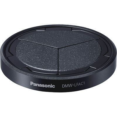 Panasonic DMW-LFAC1 Auto Lens Cap - Black