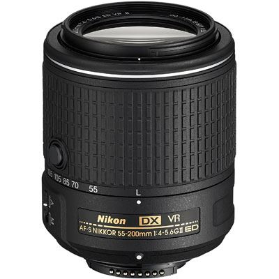 Nikon 55-200mm f4-5.6G ED VR II DX AF-S Lens